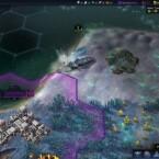 Wenn einer dieser Raketenwümer sich entschließt, euren Vorgarten umzupflügen könnt ihr vor allem am Anfang des Spiels nicht viel dagegen tun.