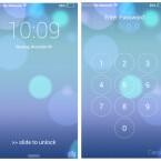 Das war es. Wenn du dein Smartphone jetzt aus- und wieder einschaltest, wird der neue Sperrbildschirm angezeigt.