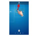 Um ein Widget zu löschen, tippst du dieses an und schiebst es an den oberen Bildschirmrand auf das Mülleimer-Icon.