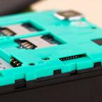 Der Gerätespeicher des Rainbow lässt sich per microSD um bis zu 64 Gigabyte erweitern.