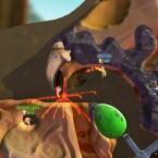 Worms Battlegrounds ist ab dem 1. Dezember bei Games with Gold für die Xbox One erhältlich. (Bild: Team 17)