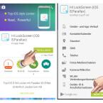 """Zuerst suchst du dir einen passenden Sperrbildschirm im Play Store von Google aus. Wir entscheiden uns zum Beispiel für den """"HALLO Lockscreen (iOS 8, Parallax)"""". Dieser bringt uns etwas iPhone-Feeling auf den Sperrbildschirm. Klicke auf """"Installieren"""" und bestätige anschließend die geforderten Berechtigungen. Die Installation unterscheidet sich nicht von der einer anderen App."""