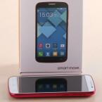 Optisch erinnert das Alcatel OneTouch Pop C7 stark an das Samsung Galaxy S3.