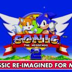 """In der App """"Sonic The Hedgehog 2"""" jagst du als Sonic und Tails mit Höchstgeschwindigkeit durch mehrere Welten. In geheimen Levels entdeckst du neue Feinde und Gefahren. Das Spiel wurde extra mit besserer Grafik und Bildrate für Mobilgeräte überarbeitet. 2,17 Euro gespart."""