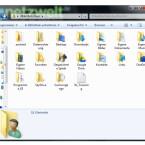 Daraufhin öffnet sich der Ordner mit Ihren eigenen Dateien im Windows Explorer. Hier finden Sie die meisten persönlichen Daten, die Sie auf der Festplatte speichern. Jetzt machen Sie sich Gedanken, welche Ordner wirklich zu sichern sind und worauf Sie zugunsten des Speicherplatzbedarfs verzichten können.