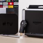 Klein und nützlich: Media Player holen Inhalte aus dem Internet auf den Fernseher.  Bekannt sind vor allem Apple TV, Google Chromecast und Amazon Fire TV.