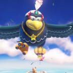 Die Geschichte in einem Satz: Toads Freundin Toadette wird von einem Riesenvogel entführt.