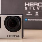 Die GoPro Hero4 unterscheidet sich Optisch kaum von der Vorgängergeneration..