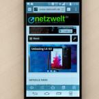 Für das LG G3 steht nun ein Update auf Android 5.0 Lollipop bereit.