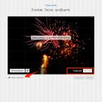 """Links unten kannst du einstellen, aus wie vielen Teilen das Bild später zusammengesetzt werden soll. Je mehr Teile, desto länger hat der Empfänger mit der Grußkarte seine """"Freude"""". Tippe anschließend auf """"Karte umdrehen"""".  (Quelle: Screenshot/pixacards.com)"""