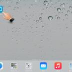 """Starte die App """"iMediaShare"""" auf deinem iPad."""
