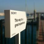 Eine großartige Erfahrung verspricht Sony Besuchern des Xperia AquaTech Stores. (Bild: Facebook/Sony Mobile ME)