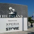 Der ungewöhnliche Handyladen befindet sich vor der Küste Dubais. (Bild: Facebook/Sony Mobile ME)