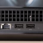 Die Konsole bietet genügend USB-Anschlüsse für weitere kabellose und oder kabelgebundene Controller. (Quelle: netzwelt)