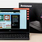 Reiseschreibmaschine mit LTE und hohem Unterhaltungswert: Lenovo Yoga Tablet 2.
