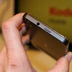 An der Oberseite bietet das Kodak IM einen Kopfhöreranschluss. (Bild: netzwelt)