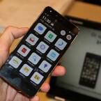 Das Kodak IM5 läuft mit Android 4.4 KitKat. Die Nutzeroberfläche hat Bullitt auf das wesentliche reduziert. So soll eine einfache Bedienung gewährleistet sein. (Bild: netzwelt)