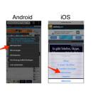 """Im Kontextmenü wählst du """"Bild speichern"""" oder """"Bild sichern"""" aus, um es in der nativen Galerie deines Android-Smartphones oder iPhone zu speichern. Daraufhin wird das Bild auf dein Gerät heruntergeladen."""