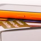 Kleiner Kritikpunkt: Die Tasten an der Seite des Microsoft Lumia 530 sind wackelig.