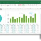 Mit Excel soll die Tabellenkalkulation künftig auch über die Touch-Eingabe funktionieren.