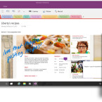 OneNote erhält ein neues Office-Menüband für besseren Funktionszugang.