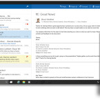 Outlook Mail und Outlook Kalender sollen denselben Funktionsumfang wie bei der Desktop-Version bieten.