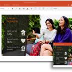Mit der PowerPoint-App könnt ihr Notizen in Echtzeit auf eure Folien übertragen.