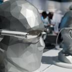 Sonys Datenbrille ist ein modulares System bestehend aus...
