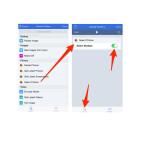 """Tippe """"Select Photos"""" lange an und verschiebe es auf die freie Arbeitsfläche. Diese erscheint nach langem Klick auf die Aktion automatisch. Den Schalter """"Select Multiple"""" müssen wir einschalten, da wir mehrere Fotos auswählen möchten. Klicke anschließend wieder auf """"Actions"""", um den nächsten Baustein auszuwählen."""