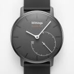 Der Fitness-Tracker sieht aus wie eine klassische Armbanduhr. (Bild: Withings)