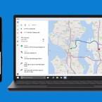 Ab Werk integriert ist eine Microsoft-eigene Karten-App.