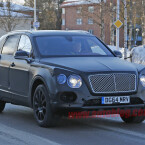 ...um ihre Prototypen unter widrigen Alltagsbedingungen zu testen. So auch Bentley...