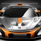 Bolide für die Rennstrecke - der McLaren P1 GTR wurde für die Rennstrecken dieser Welt entworfen. Eine Straßenzulassung...