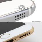 Dies erinnert wie dieser Vergleich zeigt stark an das Apple iPhone 6.