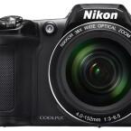 Die L840 besitzt den gleichen Sensor wie die P610, allerdings nur ein 38-Fach-Zoomobjektiv.
