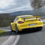 Der Porsche Cayman GT4 steht ab Ende März bei den Händlern. Die Preise beginnen bei knapp 86.000 Euro.