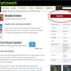 Klicke mit dem Mauszeiger auf den roten Download-Knopf...