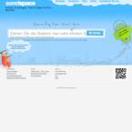 Auf Sendspace kannst du Dateien bis zu einer Größe von 300 Megabyte hochladen, um diese per Link mit anderen Nutzern zu teilen.
