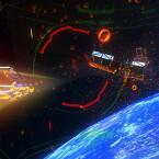 Der Space-Shooter Vanguard V stammt vom Proton Pulse-Entwickler und ist eines der komplexeren Spiele, die auf der Gear VR sehr gelungen sind. (Quelle: zerotransform)