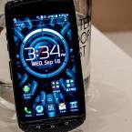 Die Bedien-Oberfläche des KitKat-Smartphones hat Kyocera selbst gestaltet.