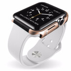 Wer Angst hat, mit seiner Apple Watch ständig gegen Tischkanten und Ähnliches zu stoßen, sollte einen Blick auf das x-doria Apple Watch Defense Edge Case werfen. Arktis bietet es zum Preis von 30 Euro an.