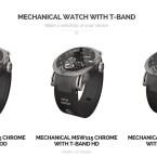 Mit dem Armband lassen sich auch normale Uhren zur Smartwatch umfunktionieren.