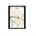 Der ausgewählte Bahnhof wird euch auf der Karte angezeigt. Tippt den Namen des Bahnhofs an, um euch die Tafeln für Ankunft und Abfahrt anzeigen zu lassen.