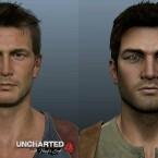 Im direkten Vergleich wirkt PS3-Drake schon fast cartoonhaft.
