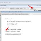 """Falls euer CD-Brenner CD-Text schreiben kann, müsst ihr das in den Laufwerkseinstellungen aktivieren. Dadurch werden Informationen zu den einzelnen Songs wie Interpret oder der Titel des Lieds mit gebrannt. Kompatible CD-Player können diese Informationen auslesen und auf einem Display anzeigen. Klickt dazu auf """"Optionen"""" und setzt anschließend das Häkchen vor """"Laufwerk ist fähig, CD-Text zu schreiben"""". Mit einem Klick auf """"OK"""" verlasst ihr die Laufwerkseinstellungen."""