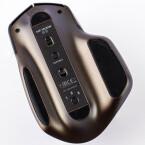 1,2,3: Bis zu drei Geräte lassen sich mit der MX Master ansteuern. Ein Druck auf die Taste und der Wechsel erfolgt umgehend.