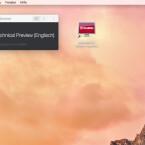 Nach der Installation des Gastbetriebssystems könnt ihr dieses entweder über die auf dem Schreibtisch angelegte Verknüpfung oder über den Eintrag in Parallels Desktop 10 für Mac mit einem Klick starten.
