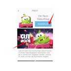Nach einem Klick auf das große Bild unterhalb der Preisangabe wird ein Muster abgespielt. Über einen Klick auf die Preisangabe wird die Vorlage heruntergeladen.