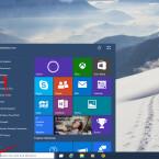"""Klickt in Windows 10 links unten auf das Windows-Icon und wählt im Menü """"Settings"""" aus."""