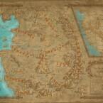 Die komplette Karte der Witcher-Welt.